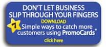 FREE DOWNLOAD - 7 ways to catch more customers using PromoCards